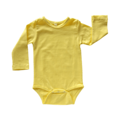 Lemon Long Sleeve Onesie Romper Bodysuit Wholesale