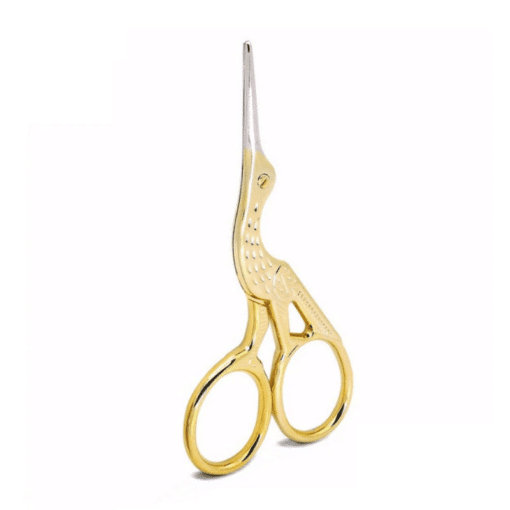Perfect for applique, monogramming, or trimming intricate embroidery projects. RIght at home in any sewing, quilting, or embroidery basket. Traditional, heirloom scissors that will last for generations to come.