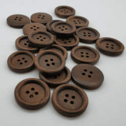Coffee Wooden Button 20-23mm 20pk. Merchant Account Available. Australian Owned from the Gold Coast.
