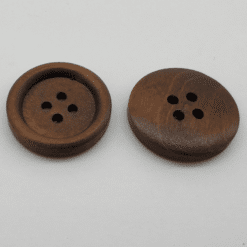 Coffee Wooden Button 23mm 20pk. Merchant Account Available. Australian Owned from the Gold Coast.