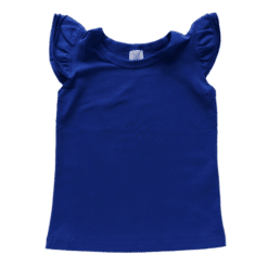 Royal-blue-Sleeveless-Fluttertop Australia