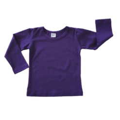 Dark Purple Long Sleeve Winter Top Australia