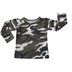 Camo Pattern Long sleeve Top Australia