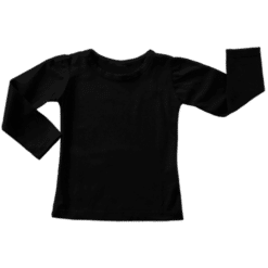 Black Long Sleeve Winter Top Australia