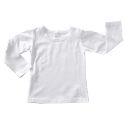 Plain White Long Sleeve Winter Top Australia