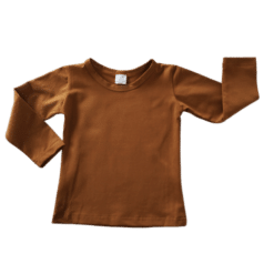 Saddle Brown Long Sleeve Winter Top Australia